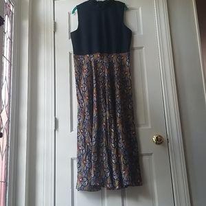 Anthropologie Sophie Sweater Midi Maxi Retro Dress